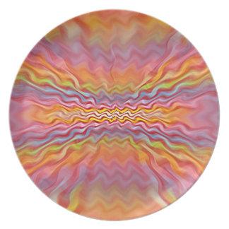 Atomic Pastels Plate