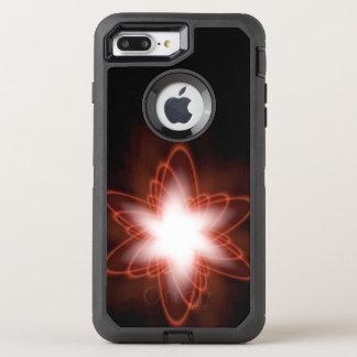 Atomic Red Swirl OtterBox Defender iPhone 8 Plus/7 Plus Case