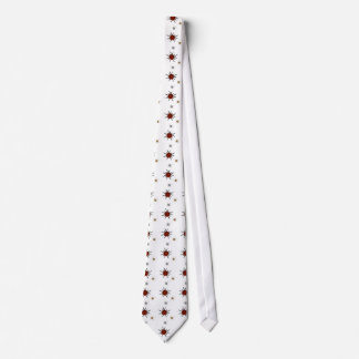 ATOMIC RETRO STARBURST TIE RED MULTI