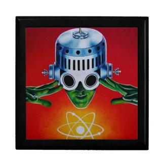 ATOMIC SPACEMAN LARGE SQUARE GIFT BOX