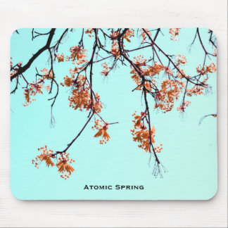 Atomic Spring by Uname_ Mouse Pad
