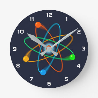 Atomic Structure Clock