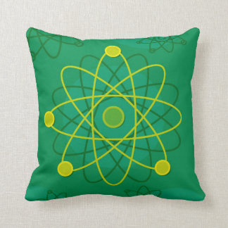 Atomic Structure Graphic Cushion