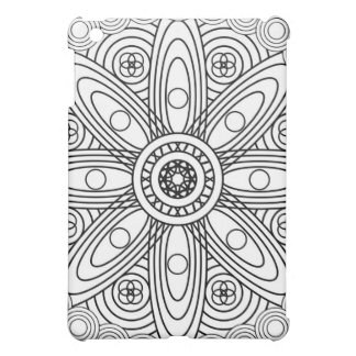 Atomic Structures Mandala Case For The iPad Mini