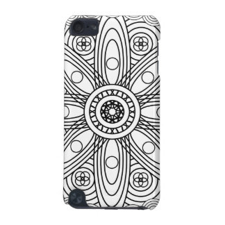 Atomic Structures Mandala iPod Touch (5th Generation) Case