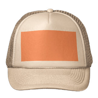 Atomic Tangerine Orange template to Customize Cap