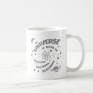 Atomic Universe Morons Basic White Mug