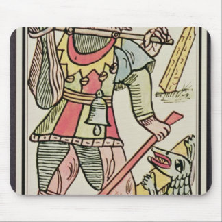 Atonement, tarot card, French Mouse Pad