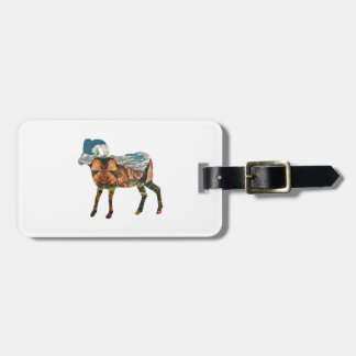ATOP THE VALLEY LUGGAGE TAG