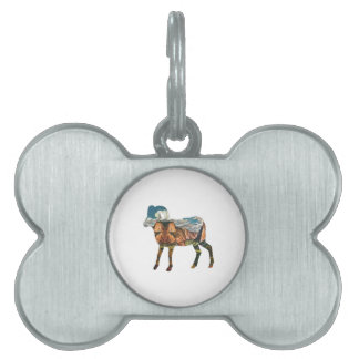 ATOP THE VALLEY PET NAME TAG