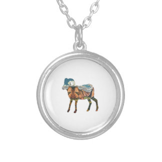 ATOP THE VALLEY SILVER PLATED NECKLACE
