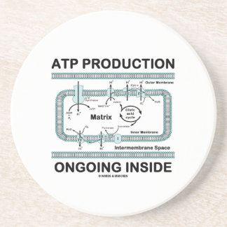 ATP Production Ongoing Inside (Mitochondrion) Coaster