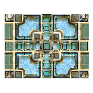 Atrium Pool Postcard