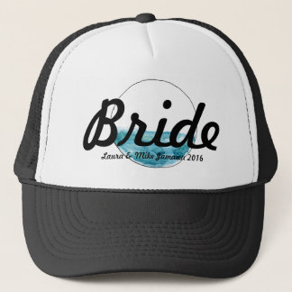 Attach circle trucker hat