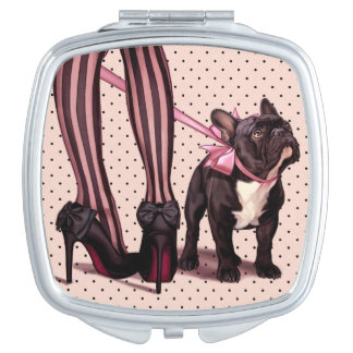 Attached to my French Bulldog Vanity Mirrors