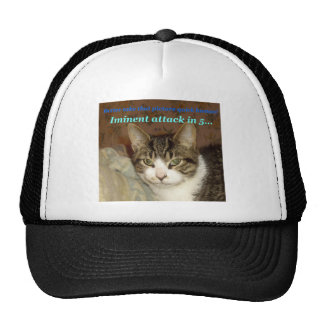 Attack Cat Mesh Hat