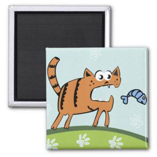 Attack Cat Magnet
