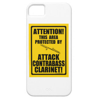 Attack Contrabass Clarinet Barely There iPhone 5 Case