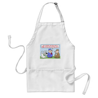 attack dog running mate standard apron