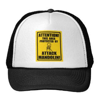 Attack Mandolin Hat