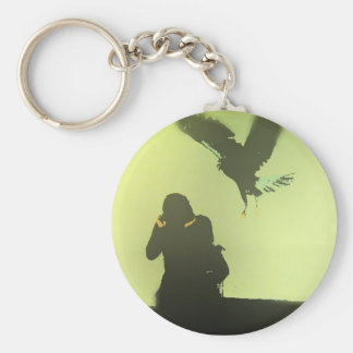 Attack of the Birds Keychain