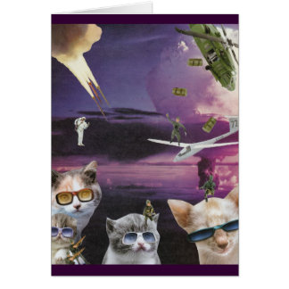 Attack of the Cool Cats Card