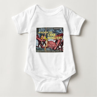 Attack of the Crab Monster Baby Bodysuit