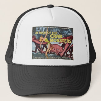 Attack of the Crab Monster Trucker Hat