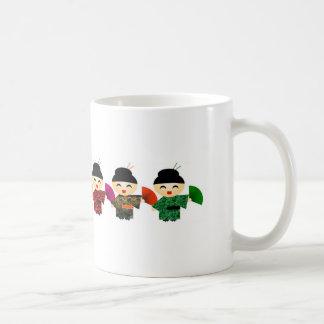 Attack of the Geisha Dolls Coffee Mug