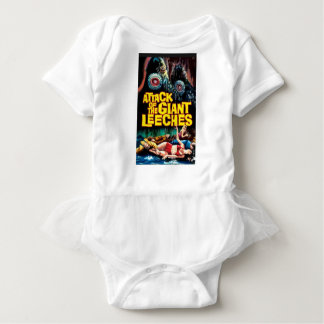 Attack of the Giant Leeches Baby Bodysuit