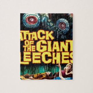 Attack of the Giant Leeches Jigsaw Puzzle