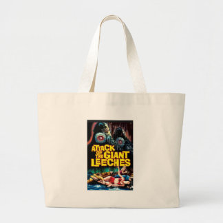 Attack of the Giant Leeches Large Tote Bag