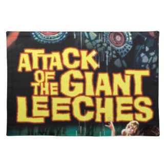 Attack of the Giant Leeches Placemat
