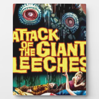 Attack of the Giant Leeches Plaque