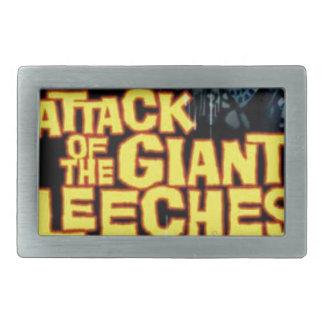 Attack of the Giant Leeches Rectangular Belt Buckle