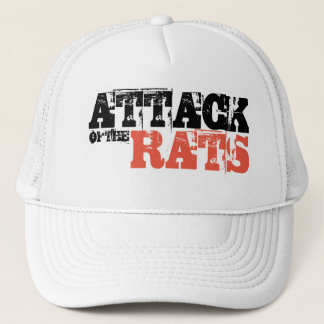 ATTACK OF THE RATS TRUCKER HAT