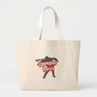Attack of the Zombie Boss Canvas Bags