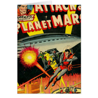 Attack on Planet Mars Card