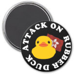 Attack on Rubber Duck magnet