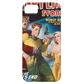 Attacked by a Space Bear iPhone 5 Cover