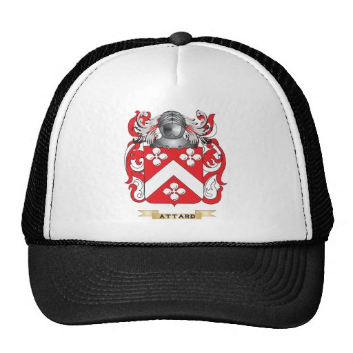 Attard Coat of Arms (Family Crest) Mesh Hats