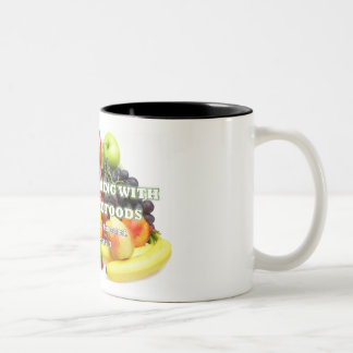 Attention All Coffee, Tea or Hot Chocolate Lovers! Two-Tone Coffee Mug