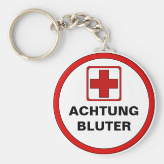 Attention - BLUTER Key Ring