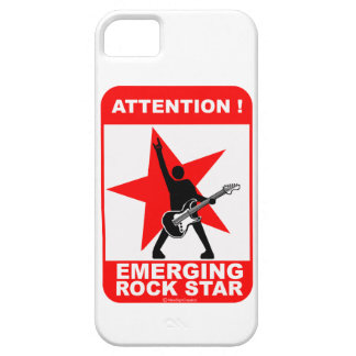 Attention! Emerging  rock star! iPhone 5 Covers