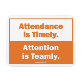 Attention is Teamly Magnet
