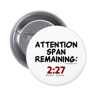 Attention Span Remaining 2 27 Minutes Pins