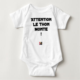ATTENTION, THE TUNA GOES UP! - Word games Baby Bodysuit