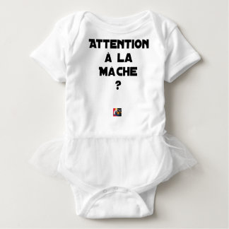 ATTENTION WITH CORN SALAD? - Word games Baby Bodysuit