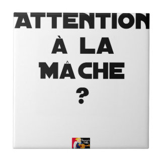 ATTENTION WITH CORN SALAD? - Word games Ceramic Tile