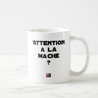 ATTENTION WITH CORN SALAD? - Word games Coffee Mug